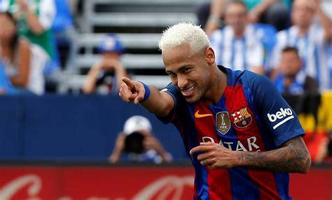 neymat blond blonde hair the latest footballers trend