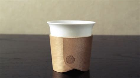 minimalist elegant coffee cup   sleeve