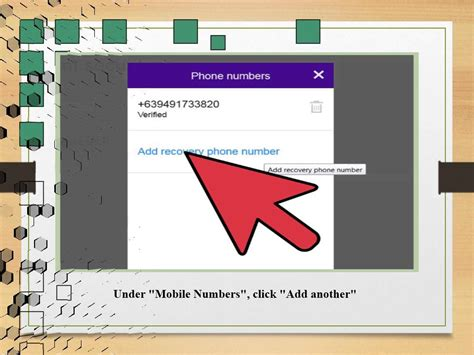 mobile yahoo messenger how to change a mobile number in yahoo messenger