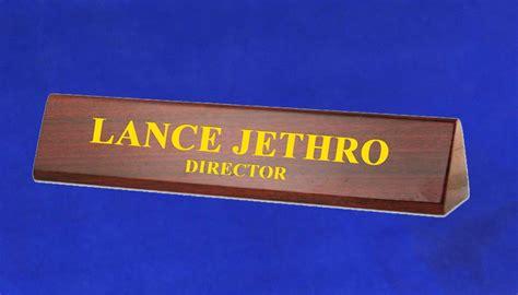 Desk Name Bar by 1379wg