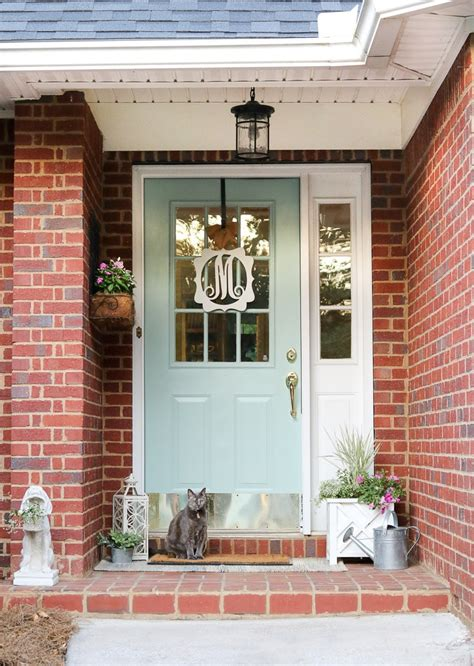 simple  easy small front porch decorating ideas