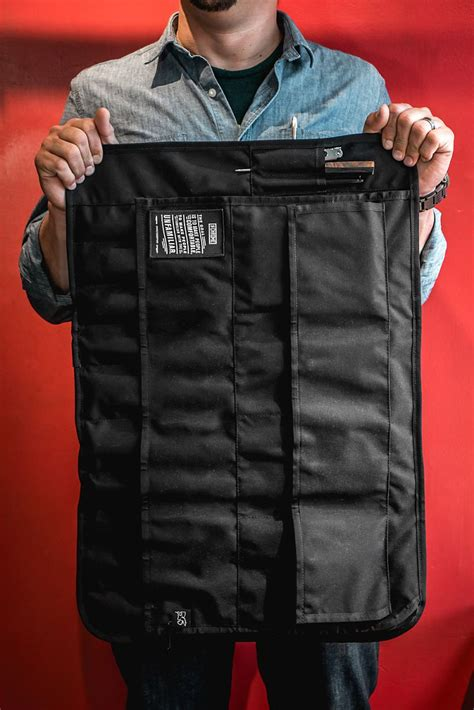 Vest Pocket Mba by Chrome Industries Offers Knife Roll Developed With Chef