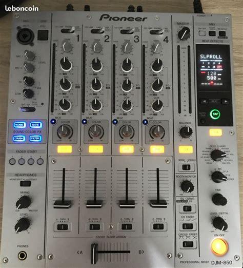 Mixer Nikko pioneer djm 850 s image 1892672 audiofanzine