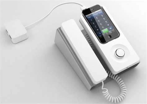 iphone desk phone dock cool material