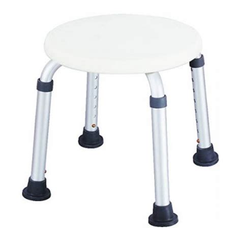 Waterproof Shower Stool shower stool waterproof white adjustable