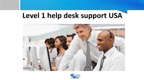 Level 1 Service Desk by Ppt Level 1 Help Desk Support Usa Suma Soft Powerpoint