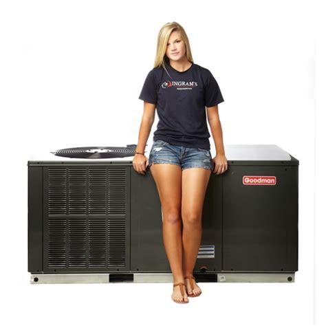 heating amp air conditioning buy goodman heat pump