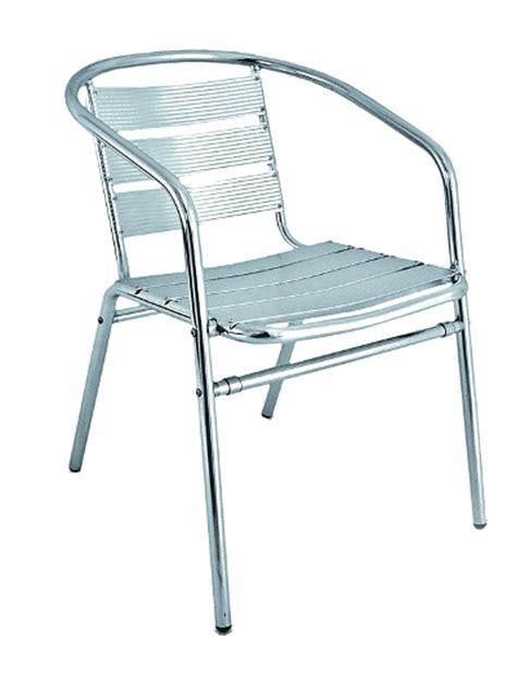 back aluminum patio chair