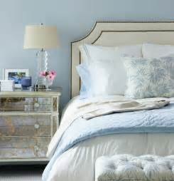 light blue and white bedroom ideas mirror nightstand contemporary bedroom muse interiors