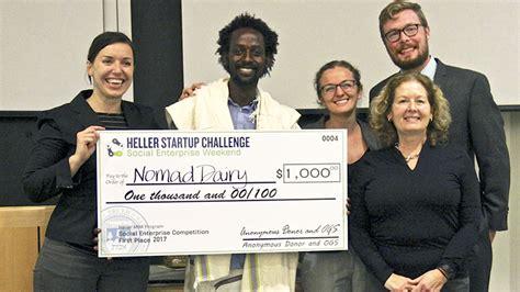 Heller Mba Ranking by The Heller Startup Challenge Delivering Innovative Social