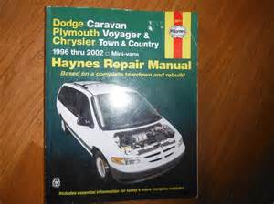 1997 plymouth voyager repair manual submited images