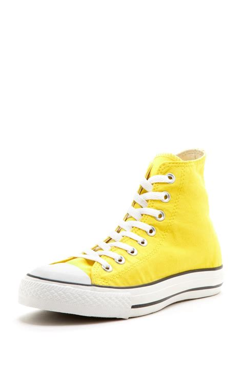 light yellow converse shoes canary yellow converse sneaker luv colourful converses