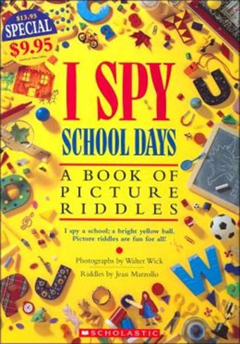 i a book of picture riddles i school days a book of picture riddles by jean