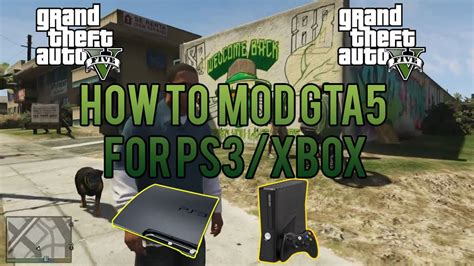 mod gta 5 ps3 online how to mod gta 5 ps3 xbox gta 5 texture modding online