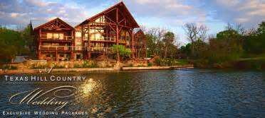 Wedding Venues Texas A Texas Hill Country Wedding Exclusive Wedding Venue Packages Lake Lbj Big Timber Lodge