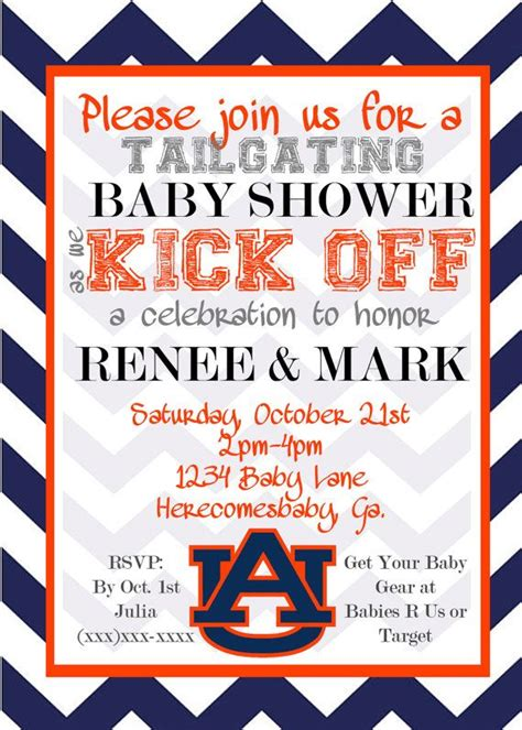 78 best images about auburn baby shower on pinterest