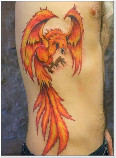 phoenix tattoo on side best tattoo design ideas some exle of phoenix tattoo
