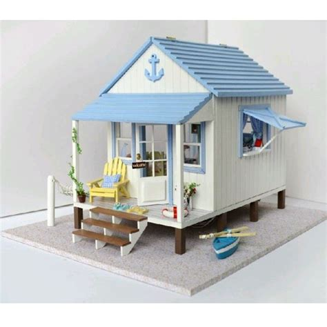 Handcraft House - diy handcraft miniature project wooden dolls house