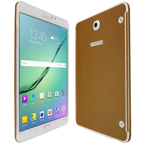 Samsung Tab S2 Gold skinomi techskin samsung galaxy tab s2 8 0 gold carbon fiber skin protector wifi lte compatible