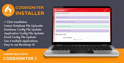 codeigniter sle application free download free nulled installer for codeigniter application download