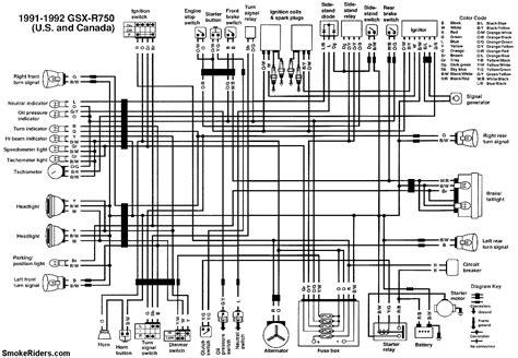 suzuki gsxr 750 wiring diagram suzuki gs 450 wiring