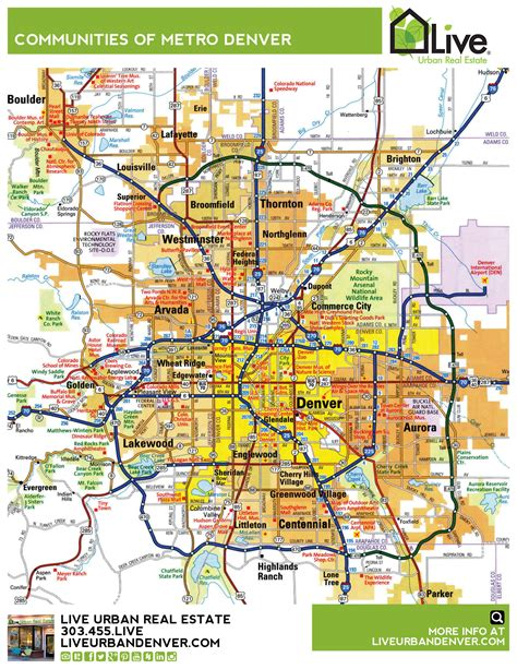 map denver colorado map of denver metro afputra