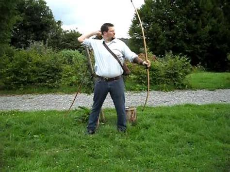 libro longbowman vs crossbowman hundred speed shooting 100 lbs longbow 08 08 10 attempt 1 youtube