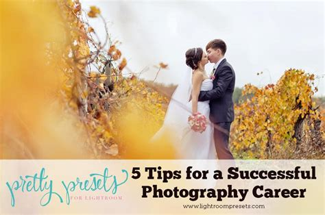 5 tips for a successful photography career pretty