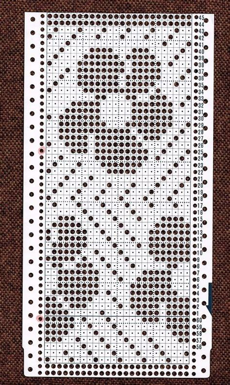 knitting machine punch card templates mnemosina ru перфокарты 16 29 needler s corner