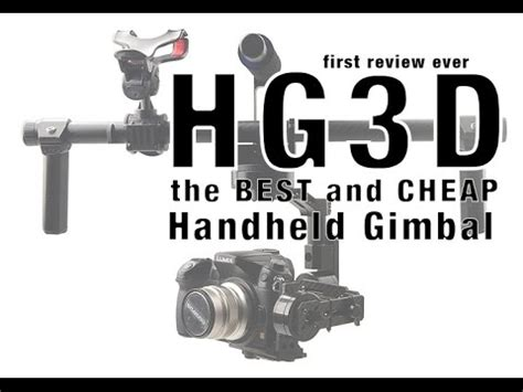 top 5 dslr gimbals, make great youtube videos using one
