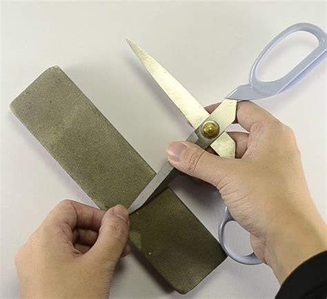 how to sharpen scissors sharpening scissors template