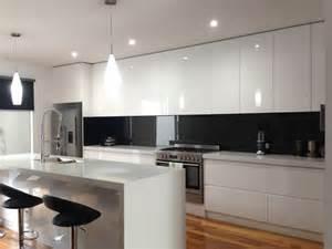 Tile Kitchen Backsplash Designs - the 25 best black splashback ideas on pinterest modern kitchen lighting modern kitchen