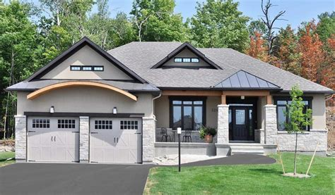 home plans with walkout basements bungalow house plans with walkout basement fresh sunset woods beckwith doyle homes architecture