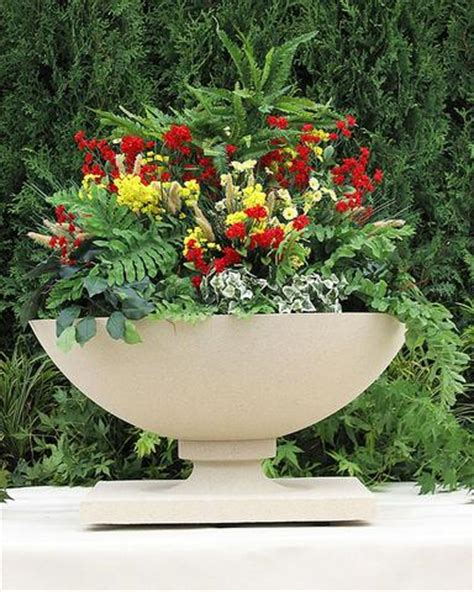 Frank Lloyd Wright Planter by Frank Lloyd Wright Outdoor Garden Maclin Studio
