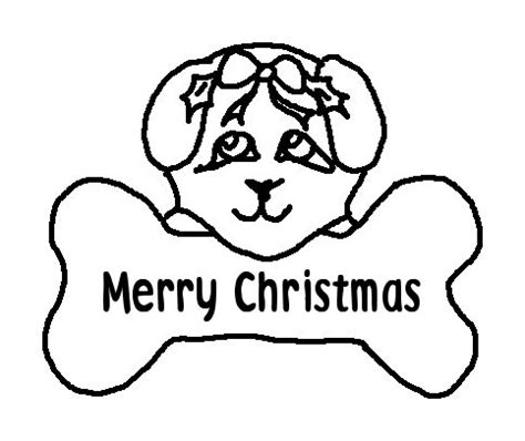 christmas puppy coloring page printable coloring pages merry christmas dog printable colouring pages for kids