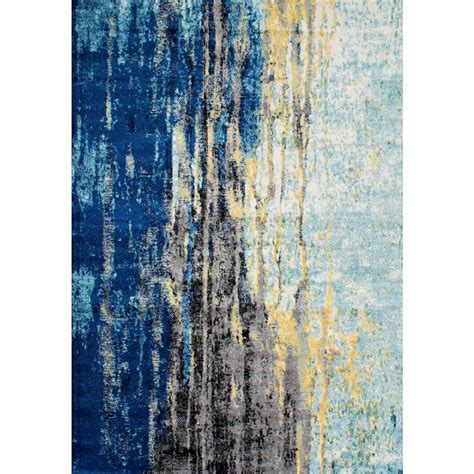 10 X 10 Ft Area Rugs - nuloom katharina blue 7 ft 10 in x 10 ft 10 in area