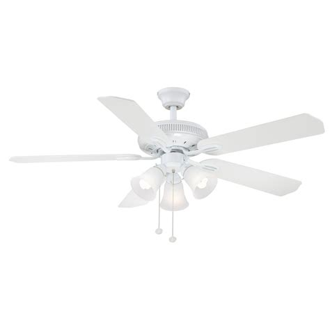 hton bay glendale 52 ceiling fan parts hton bay glendale 52 in indoor white ceiling fan with