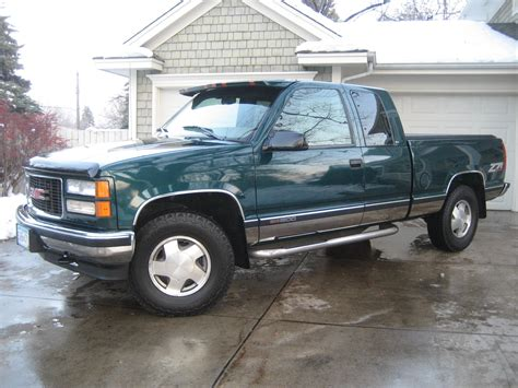 how cars run 1998 gmc 2500 club coupe user handbook gmpickups 1998 gmc sierra 1500 extended cab specs photos modification info at cardomain