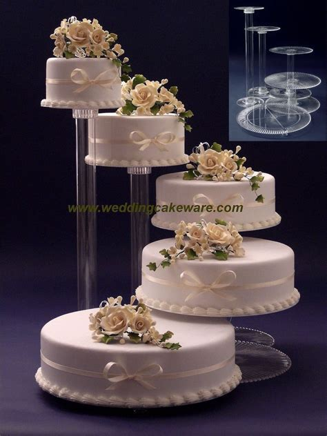Wedding Cakes Stands 5 tier cascading wedding cake stand stands set ebay