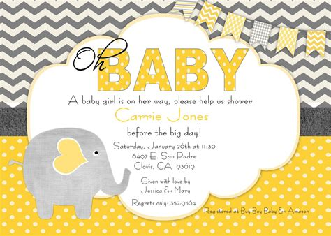 Baby Shower Invitaitons by Baby Shower Invitation Free Baby Shower Invitation