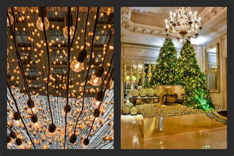 hotel decor christmas decor at four seasons hotel luxury topics