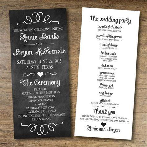 Best 25 Wedding Program Templates Ideas On Pinterest Wedding Program Template Free Program Aed Program Template