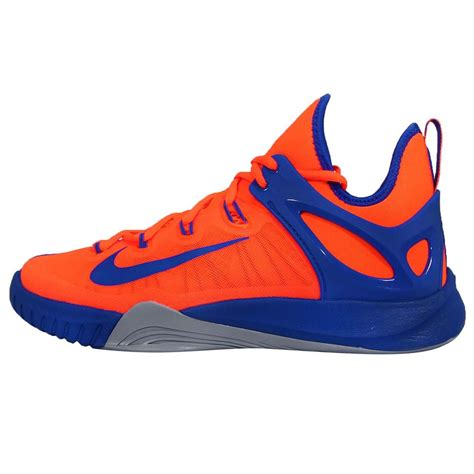 blue and orange basketball shoes nike zoom hyperrev 2015 ep orange blue mens basketball