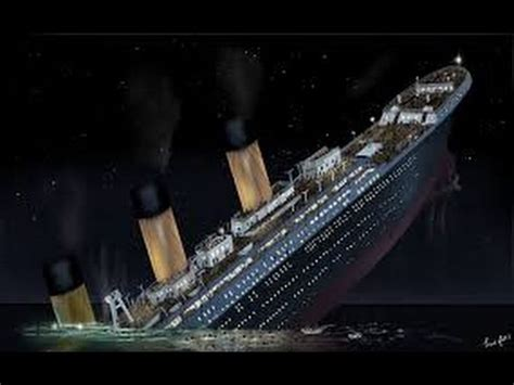 Titanic Sinking by Mine Imator Titanic Sinking V1 Animation