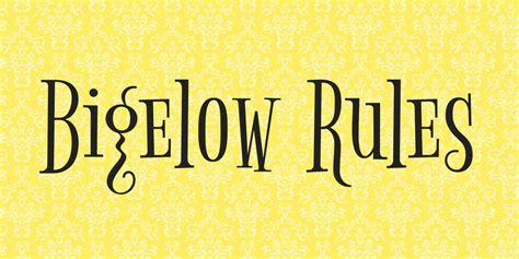 web design font rules bigelow rules font 183 1001 fonts