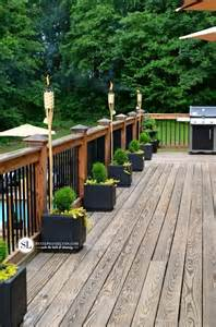 how to decorate a deck for a wedding 25 best ideas about deck lighting on patio