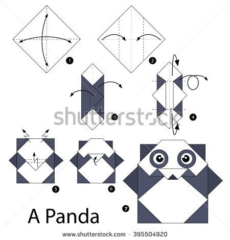 How To Make A Origami Panda - tofang s portfolio on