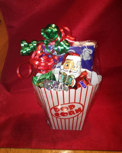movie nite popcorn treat bags popcorn box filled w candy