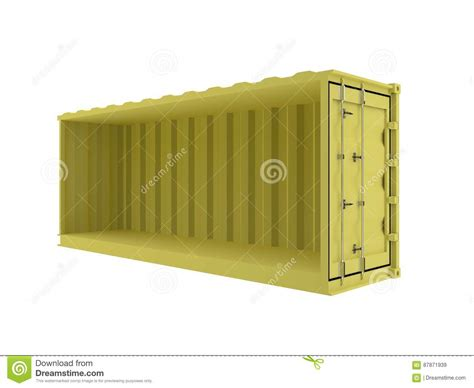 container section container section for custom text yellow stock