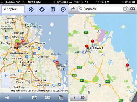 apple maps for android apple ios 6 versus android how do they compare one